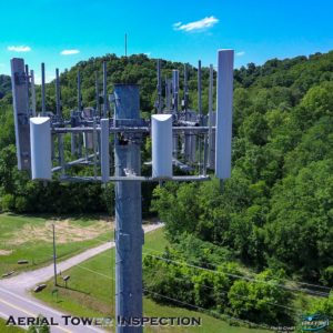 cellular tower drone inspection
