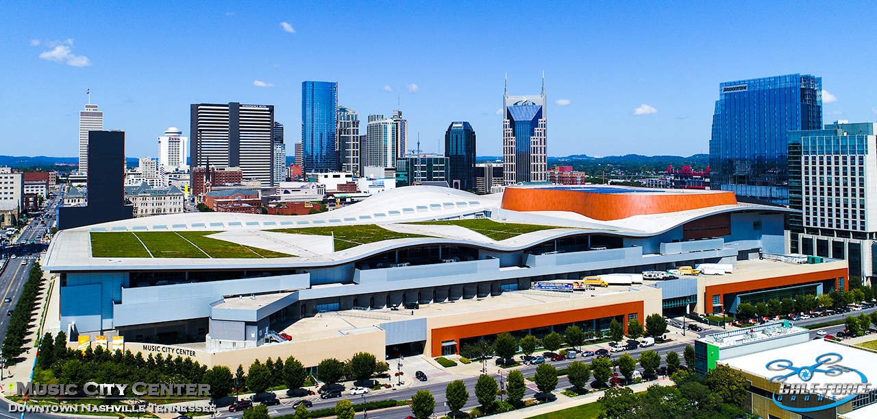 downtown nashville tennessee music city center