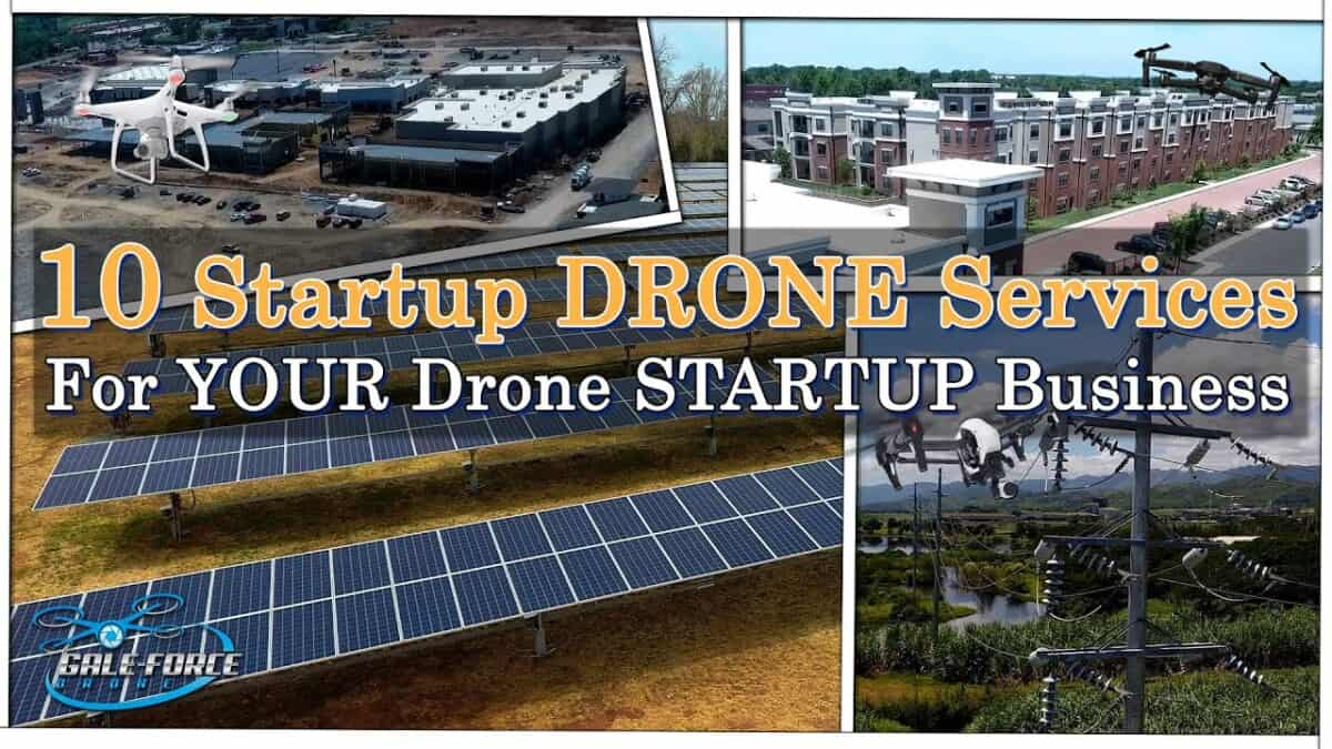 10 Startup DRONE Services