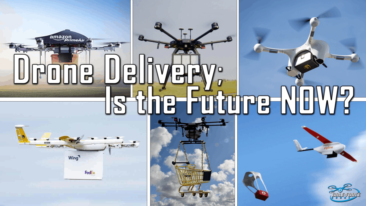 drone delivery; is the future now