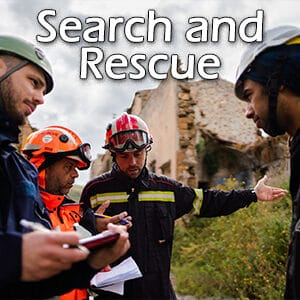 search and rescue services