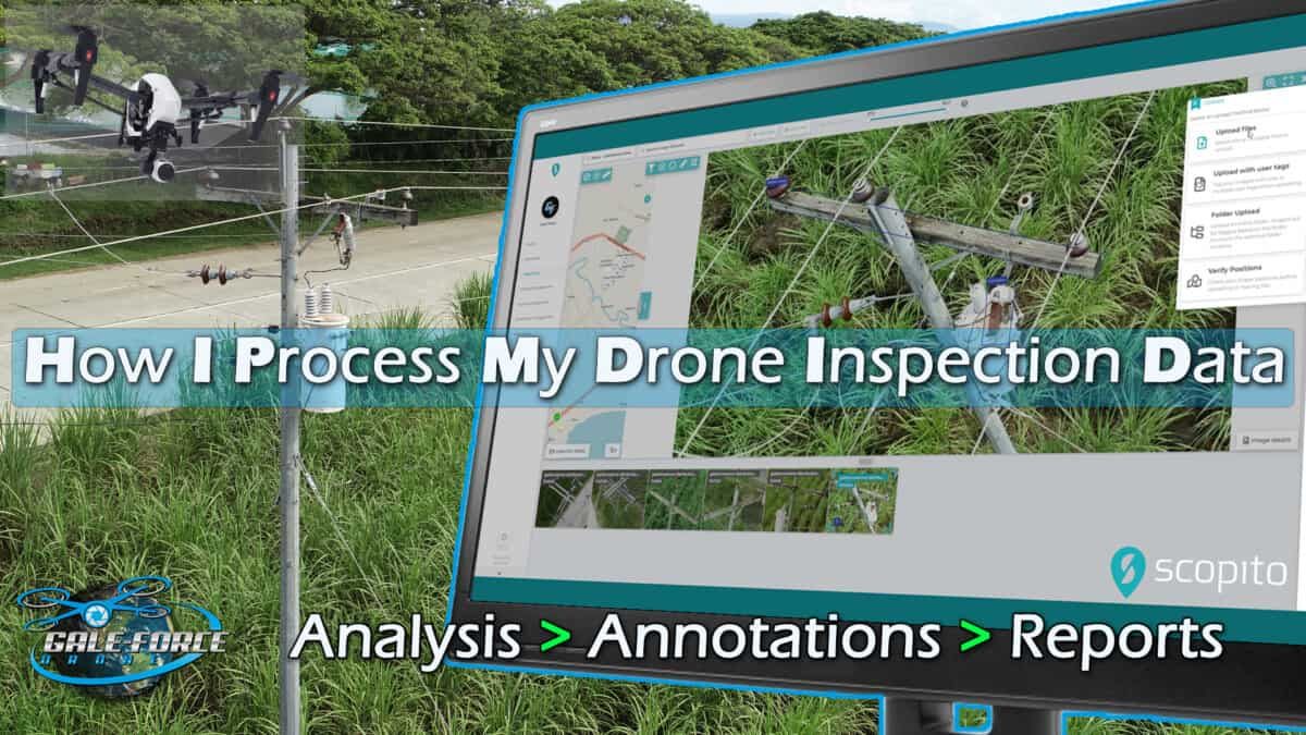 how I process my drone inspection data